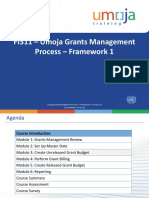 FI311 Umoja Grants Management Process Framework 1 ILT PPT v27 17 Oct 14