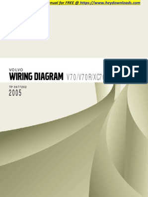 2005 volvo wiring diagram volvo xc70 2005 v70 v70r xc70 xc90 wiring diagram airbag  v70 v70r xc70 xc90 wiring diagram