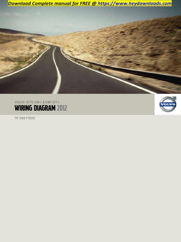 2001 Volvo S80 Fan Wiring Diagram - Schematics Online
