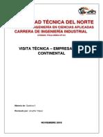 Informe de La Gira_Empresa ARCA CONTINENTAL