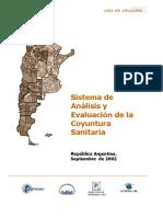 Analisis de Coyuntura y Organizacion Del Sistema de Informaci