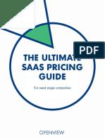 SaaS Pricing Guide (eBook)