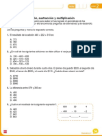 matemática prueba
