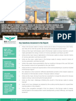 Europe Waste to Energy Market  Analysis and Forecast