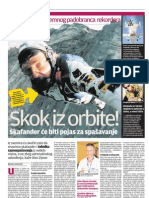 Olav Zipser, padobranac koji želi skočiti iz orbite