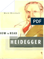 (How to Read) Mark Wrathall-How to Read Heidegger-W. W. Norton & Company (2006)