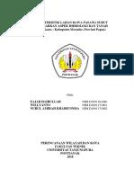 Aspek Hidrologi & Tanah