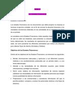 Estados Financieros - Resumen