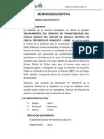 2. Memoria Descriptiva Ancala