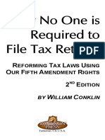 Why Nobody is Required to Pay Taxes
