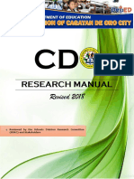 Updated CDO Research Manual Cdo