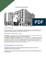 Compendio de Patología Constructiva de La Edificación