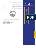 CPM18th Lower Urinary Tract Symptoms (LUTS) PUA