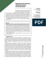 Biomecanica Restaurarilor Implanto Protetice Corelata Cu Principiile Specifice Ale Proteticii Implantologice