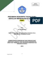 Pedoman Deskripsi Tugas Guru SMK