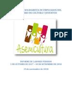Informe de AsemiCultura 2018