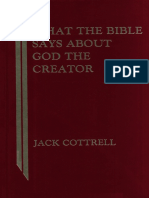 [Jack Cottrell] What the Bible Says About God