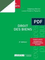 Partiels 2018 Lextenso Étudiant Jour 4 - L2 - Droit des biens (LGDJ - Exercices pratiques)