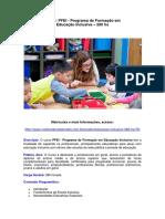 PFEI - Educação Inclusiva