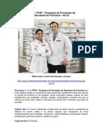 PFAF - Atendente de Farmacia
