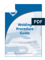 Welding Procedure Preparation 2
