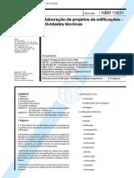 NBR 13531-Elaboração de projetos e Edificações-Atividades técnicas.pdf