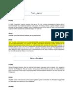 Political Law Digest (b)