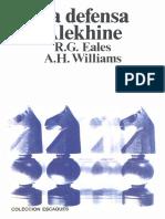 Eales R & Williams H - La Defensa Alekhine - 1976-OCR, 159p
