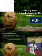 Leopoldo Lares Sultán - Acuña Jr. y Ohtani designados Novatos del Año en la MLB