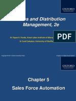 412 33 Powerpoint Slides 5 Sales Force Automation Chap 5