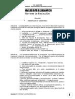 Normas de Redacción UDH, 2018