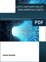 Final Thesis Report Probabilistic Estimating of Engineering Costs Public