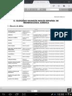 Diccionario Ingles-esp Dcho Penal