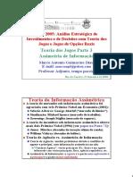 Análise Estratégica de Investimentos e Decisão