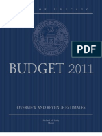 2011 City of Chicago Overview and Revenue Estimates