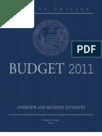 2011 City of Chicago Overview and Revenue Estimates