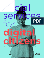 Social Services for Digital Citizens Opportunities for Latin American and the Caribbean