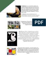 Dadaismo, Neoplasticismo, Diseño suizo