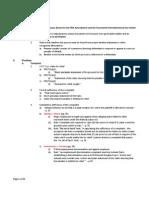 Civ Pro Outline
