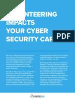 Cyber Security Community Volunteering Survey Results