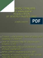 Pediatric Trauma