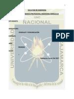 Ensayo Contaminacion Electromagnetica en Cajamarca
