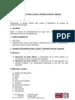 Protocolo Para Lavado y Desinfección de Tanques. (1)