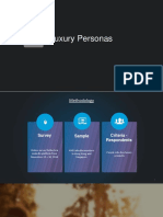 Luxury Buyer Persona Insights