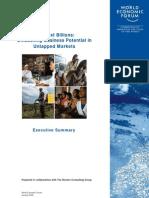 2009 WEF - The Next Billions, Biz Potential in Untapped Markets