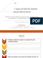 Predictive Value of Eeg for Febrile Seizure Reccurence Ppt
