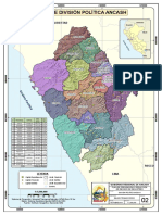 MAPA N°02 - DIVISIÓN POLÍTICA ANCASH GRA