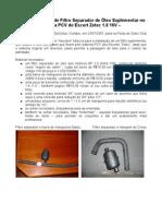 SAF Separador de Oleo Suplementar Na PCV
