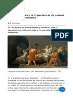 Buda  Sócrates y la importancia de pensar por nosotros mismos.pdf