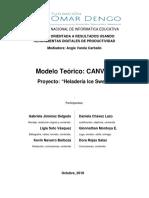 Modelo CANVAS Proyecto Heladería Ice Sweet